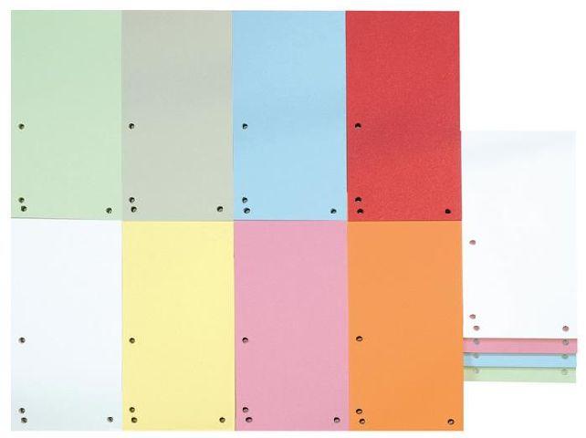 Separatoare carton 105x235mm,color 100buc/set