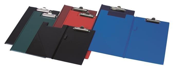 Clipboard dublu A4,PVC,diverse culori