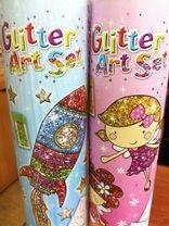 Set creativ desen cu glitter
