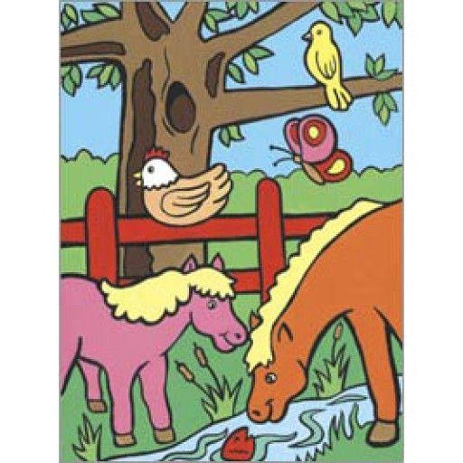 Prima mea pictura pe nr Animale de ferma