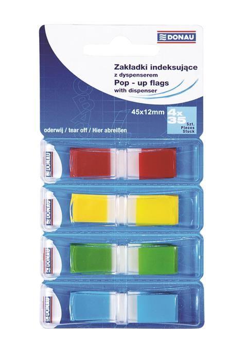 Index Pop-Up Donau,12x45cm,4x35file/culoare
