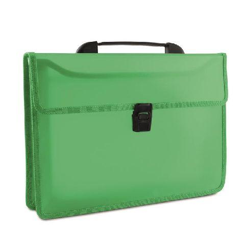 Servieta plastic,cu maner,verde
