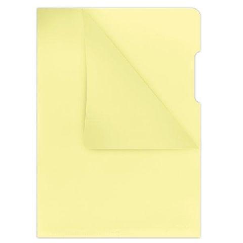 Mapa in L,160microni,galben transparent,10b