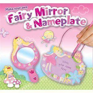 Set creativ decoarere oglinda/placuta nume