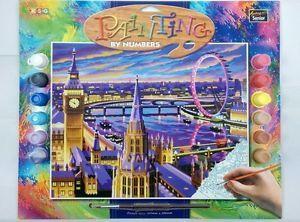 Tablou Picteaza pe numere Londra