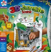 Set creativ scena 3D jungla