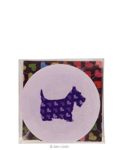 Radiera Scottie Dog