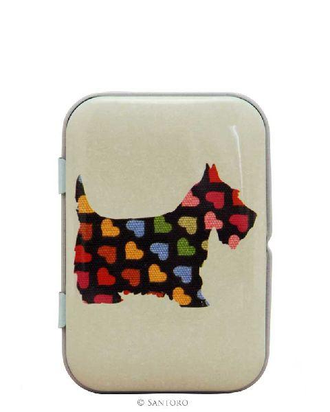 Panza curatat in cutie metalica,Scottie Dogs