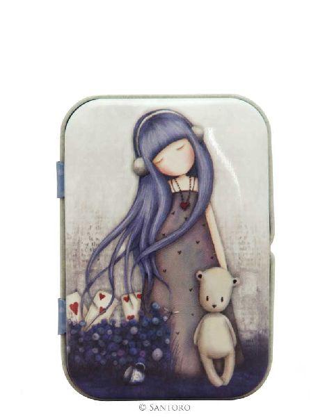 Panza curatat in cutie metalica,Dear Alice