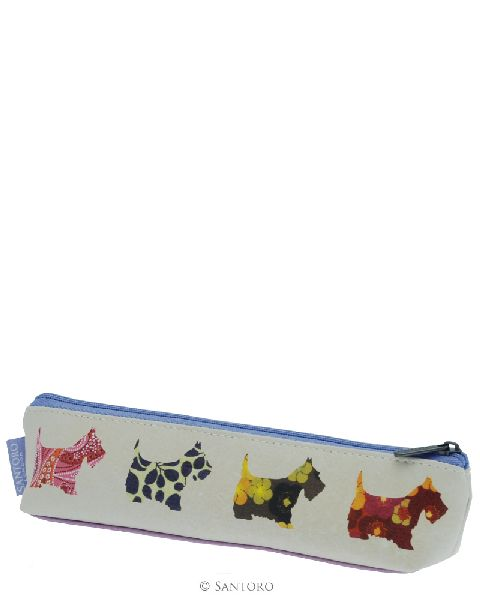Pouch,18x6x3cm,Scottie Dogs