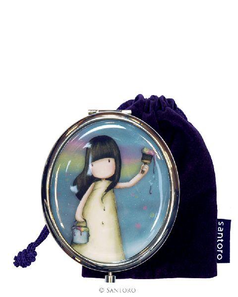 Oglinda de buzunar,6x7cm,Rainbow Dreams