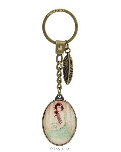 Breloc pentru chei,Mademoiselle Snow