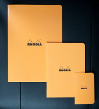 zzCaiet A4,Rhodia oran ge,48f,dict