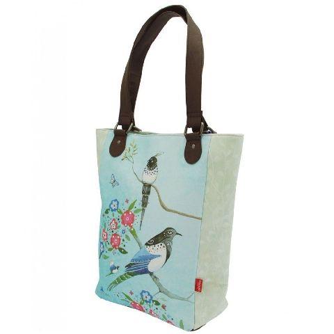 Geanta cumparaturi 38x28x12cm,Watercolour Birds