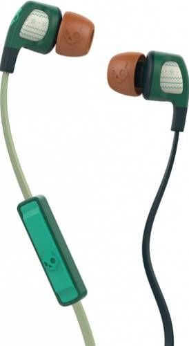 Casti Skullcandy Smokin Buds 2 Explorer/Forest/Green