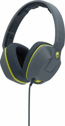 Casti Skullcandy Crusher Gray/Hot Lime