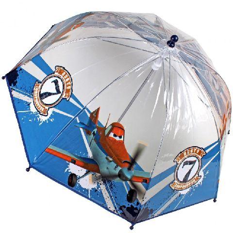 Umbrela transparenta,45cm,Planes