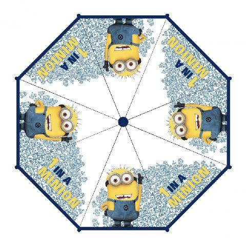 Umbrela transparenta,45cm,Minnions