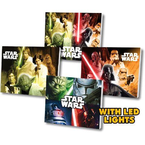 Tablou cu led,Star Wars