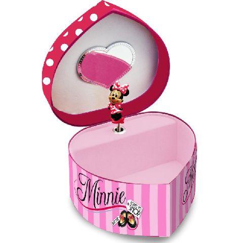 Caseta muzicala,forma inima,Minnie