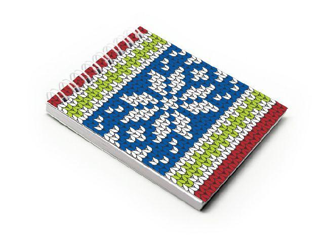 Blocnotes A7,spira,60f,velin,013,Crochet