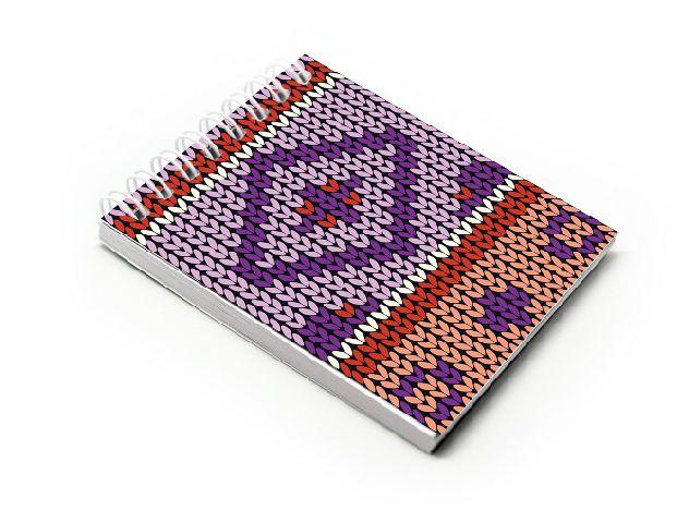 Blocnotes A7,spira,60f,velin,016,Crochet