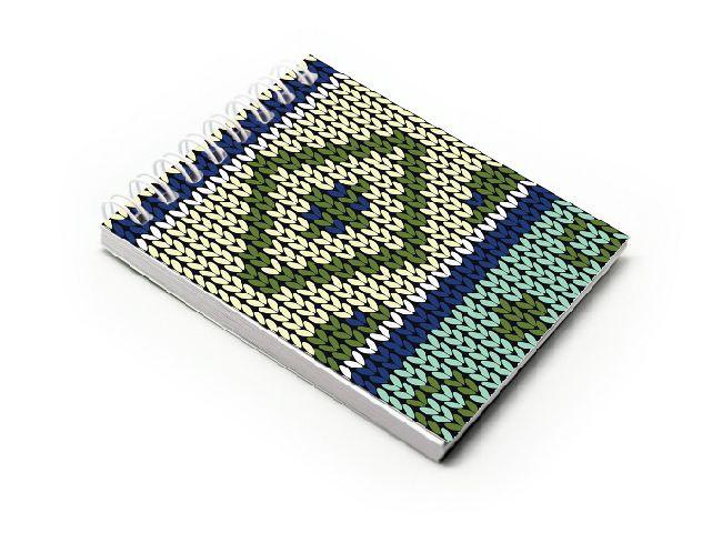Blocnotes A7,spira,60f,velin,017,Crochet