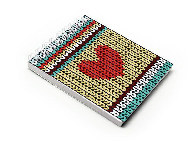 Blocnotes A7,spira,60f,velin,012,Crochet