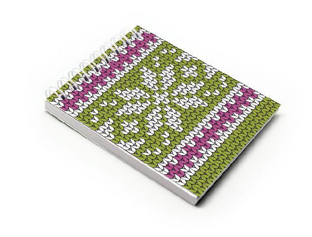 Blocnotes A7,spira,60f,velin,014,Crochet