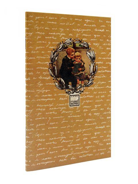Caiet 9x14cm,30f,dictando,1062,Vintage