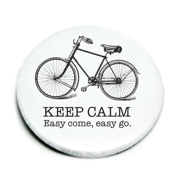 Magnet nr.04,white,Bike