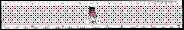 Rigla 30cm,Portrait Dog