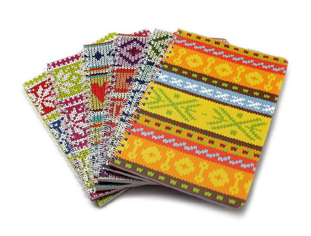 Caiet A5,48f,spira,dictando,10,Crochet