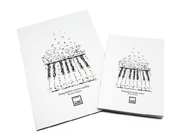 Caiet A5,40f,white,Music