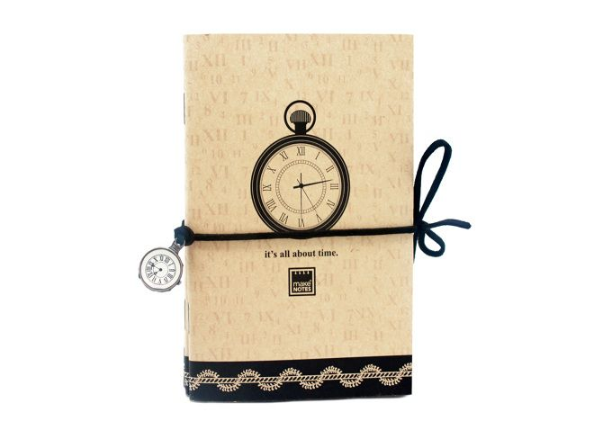 Carnetel 9x14cm,30f,3buc/set,Clocks