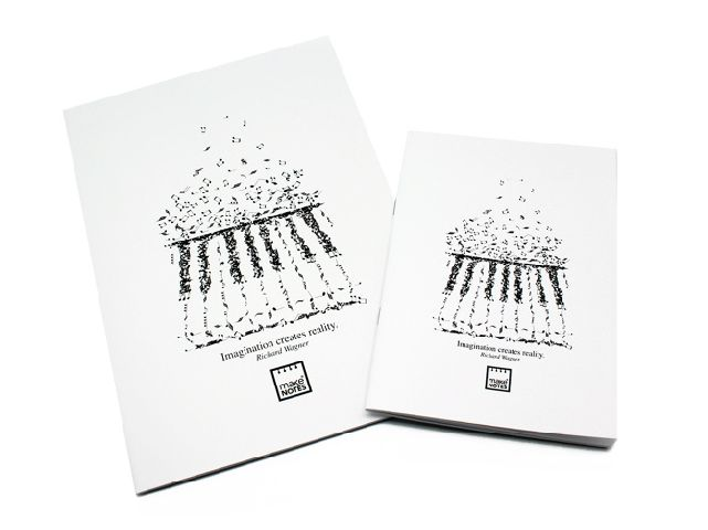 Caiet A4,40f,white,Music