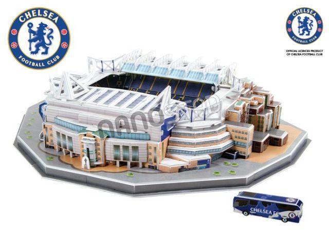 Puzzle 3D,stadion Chelsea,Nanostad