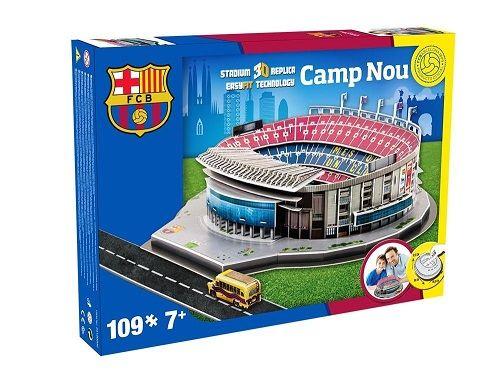 Puzzle 3D,stadion Barcelona,Camp nou,Nanostad