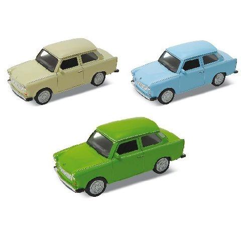 Masinuta Goki,Trabant 601,11cm,div.culori