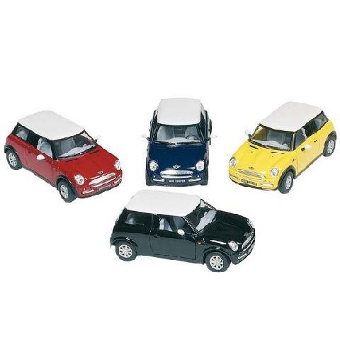Masinuta Goki,Mini cooper,13cm,div.culori