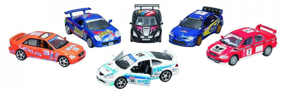 Masinuta Goki,Street Racers,12.5cm,div.culori