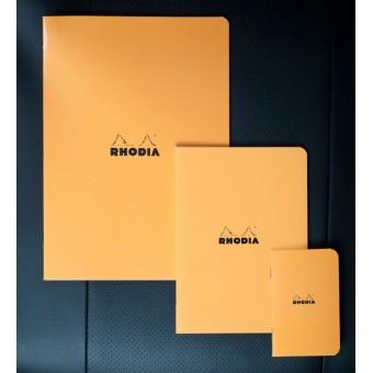 zzCaiet A5,Rhodia oran ge,48f,dict