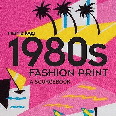 1980S FASHION PRINT .