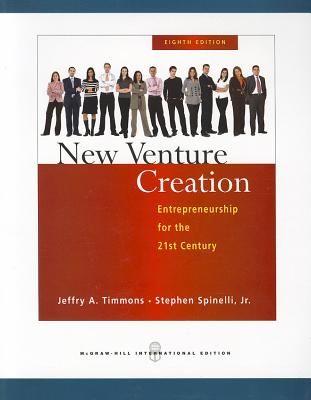 NEW VENTURE CREATION .