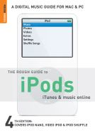 ROUGH GUIDE TO IPODS, I TUNES & MUSIC ONLINE, T