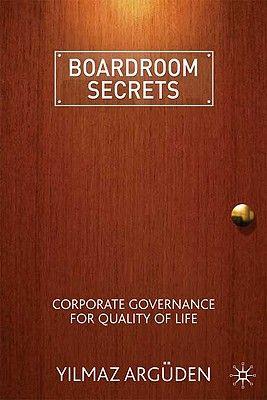 BOARDROOM SECRETS .