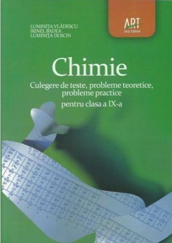 CULEGERE CHIMIE PENTRU CLASA A IX-A