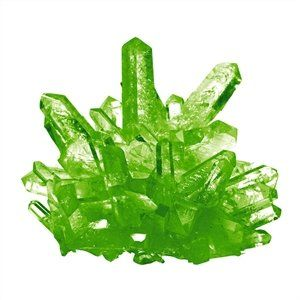 Cristal Magic, verde