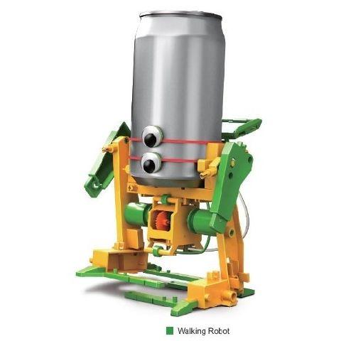 Kit 6 in 1 Robot solar din reciclabile