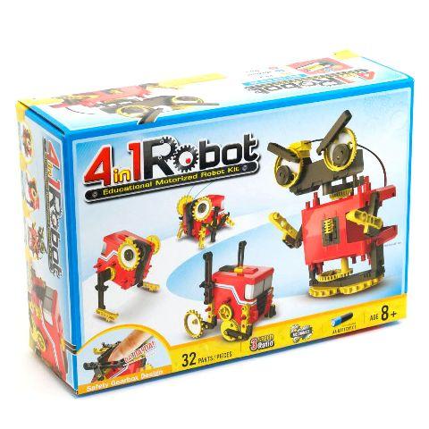 Kit 4 in 1 Robot motorizat